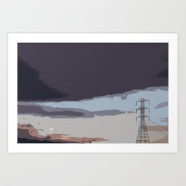 powerlnes Art Print