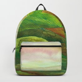 Lines in the mountains XVI Backpack