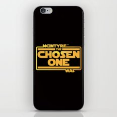 He Was The Chosen One iPhone & iPod Skin