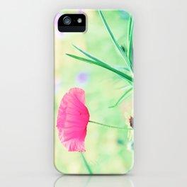 Poppy Romance iPhone Case