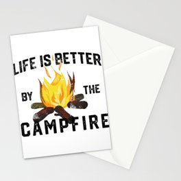 Camping nature forest mountains outdoor tree gift Stationery Cards
