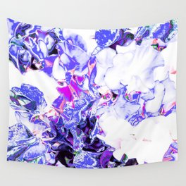 SWEETPEA BLUE/WHITE Wall Tapestry