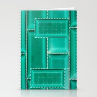 architecture Stationery Cards featuring ARCHITECTURE by BIGEHIBI