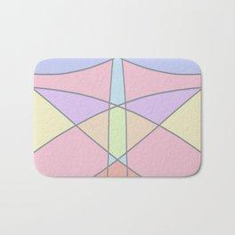 Pastel Pattern Bath Mat