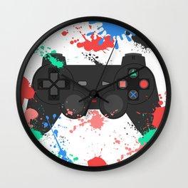 Controller Graffitti PS Wall Clock