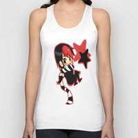 scott pilgrim Tank Tops featuring Scott Pilgrim- Knives Chau  by Mango Mamacita