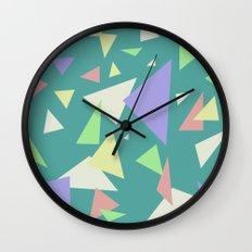 Triangl'd  Wall Clock