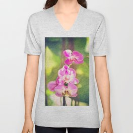 Orchid Impressions Unisex V-Neck