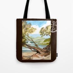 Summer At Coopers Beach Tote Bag
