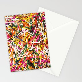 Golf Pegs Stationery Cards