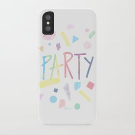 Pastel party iPhone Case