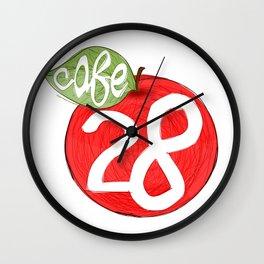 Cafe 28 Wall Clock