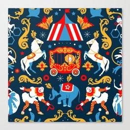 Circus royal Canvas Print