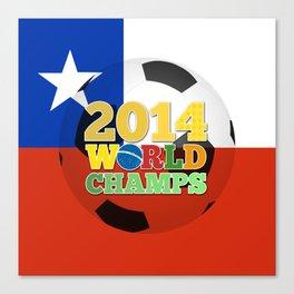 2014 World Champs Ball - Chile Canvas Print