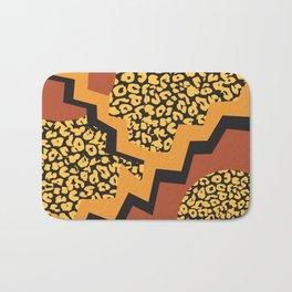 Leopard 80's pattern Bath Mat