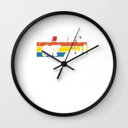 Vintage New York City NY Travel Visitor Gift Idea Wall Clock