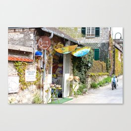 Giverny Streetscene Canvas Print