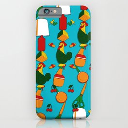 Whimsical Stacks and Knick Knacks - pattern iPhone Case