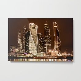 Moscow city Metal Print