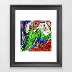 Misunderstood - Texture 7 Framed Art Print