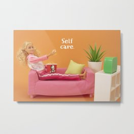 Real self care Metal Print