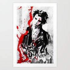 No More Violence! Art Print