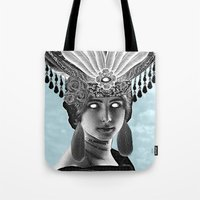 grace Tote Bags featuring Grace by Thömas McMahon