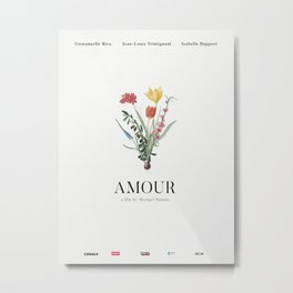 Amour Alternative Movie Poster Metal Print