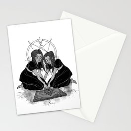 Inktober Creepy Twins Stationery Cards