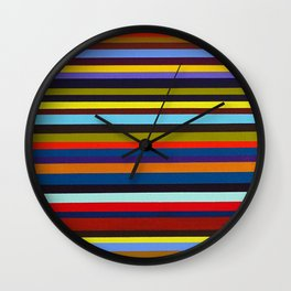 Purple Grapes and Olives Wall Clock