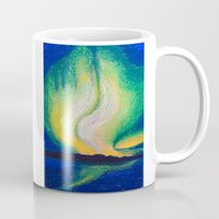 the lights Mugs featuring Lights  by Shazia Ahmad