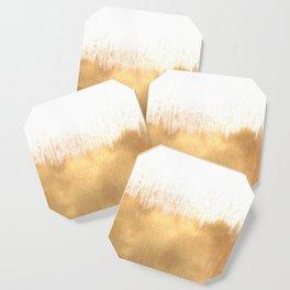 Brushed Gold Coaster