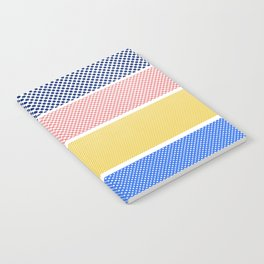 Halftone Stripes Notebook