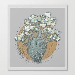 COLORtemple Canvas Print