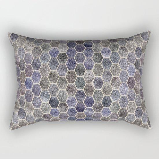 Glitter Tiles Rectangular Pillow