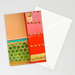 Red Door in the Forbidden City Stationery Cards