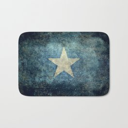 Somalian national flag - Vintage version Bath Mat