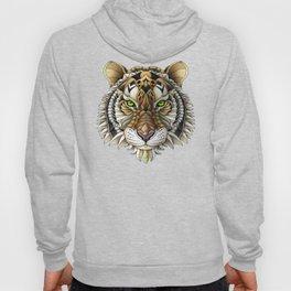 Ornate Tiger Hoody