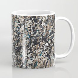 Jackson Pollock - One: No. 31, 1950 - Exhibition Poster Coffee Mug