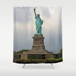 Miss Liberty Shower Curtain