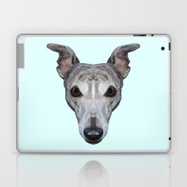 Whippet // Pastel Blue Laptop & iPad Skin