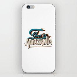 YOU'RE AMAZBALLS iPhone Skin