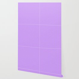 Lavender with White Grid 2 Wallpaper