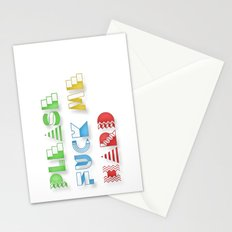 Please Fuck Me Hard Stationery Cards