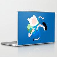 finn Laptop & iPad Skins featuring Finn by Polvo