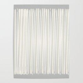 White   Japanese Atmospheres Poster