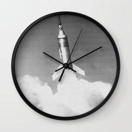 Launch of Little Joe I-B from Wallops Island 4 Nov 1959 Wall Clock