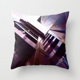 Glasgow Above 01 Throw Pillow