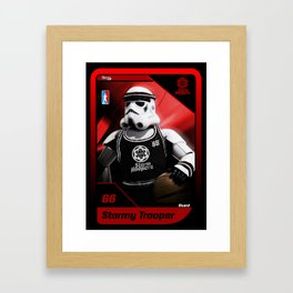 Storm Hoopers Framed Art Print