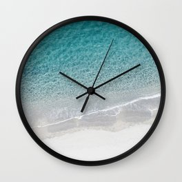 Drone Beach Wall Clock